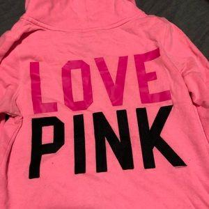 Victoria's Secret PINK full zip with hood